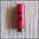 12G R.T.O. ELEY SG. RED CARTRIDGE  [INERT]