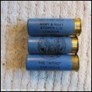 12G R.T.O. ARMY & NAVY STORES THE NITRO BLACK PRINT CARTRIDGE  [INERT]
