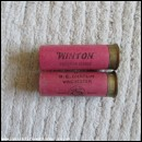12G R.T.O. CHAPLIN  WINTON CARTRIDGE  [INERT]