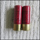 12G R.T.O. COGSWELL & HARRISON VICTOR RED CARTRIDGE  [INERT]