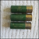 12G ELEY BLACK FEATHER  CARTRIDGE  [INERT]