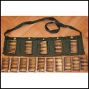 5.56mm NATO bandoleer with SA80 stripper clips