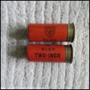 12G R.T.O. ELEY TWO-INCH SMOKELESS CARTRIDGE  [INERT]