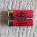 12G R.T.O. GAMEBORE BLACK POWDER RED CARTRIDGE  [INERT]