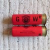 12G GOW CARTRIDGE  [INERT]