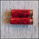 12G HULL THREE CROWNS TYPE 1 CARTRIDGE  [INERT]