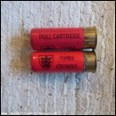 12G HULL THREE CROWNS TYPE 2 CARTRIDGE  [INERT]