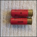 12G HOLLAND & HOL GAME CARTRIDGE  [INERT]