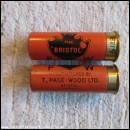 12G R.T.O. PAGE-WOOD THE BRISTOL CARTRIDGE  [INERT]