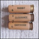 12G  RABBIT CLEARANCE CARTRIDGE BLACK PRINT  [INERT]
