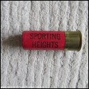 12G SPORTING HEIGHTS RED CARTRIDGE  [INERT]