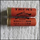 12G R.T.O. TRENT BEST SMOKELESS BROWN/ORANGE  CARTRIDGE  [INERT]