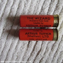 12G R.T.O. TURNER THE WIZARD ORANGE CARTRIDGE  [INERT]