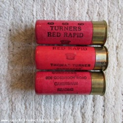 12G TURNER RED RAPID GOSBROOK RD TYPE 3 CARTRIDGE  [INERT]