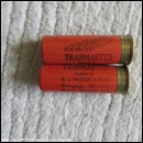12G WOODS TRAPMASTER CARTRIDGE  [INERT]