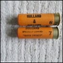 20G HOLLAND & HOL SUPER TWENTY YELLOW CARTRIDGE  [INERT]