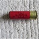 12G TRAP SHOOTING LOAD RED CARTRIDGE  [INERT]