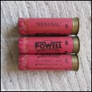 12G WILLIAM POWELL GENERAL PINK EMPTY FIRED CASE