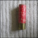 16G MANUFRANCE [RED MABLE EFFECT] EMPTY FIRED CASE