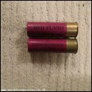 12G R.T.O. STANBURY & STEVENS RED FLASH CARTRIDGE  [INERT]