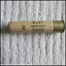 "20G ELEY GASTIGHT CASE 3""  EMPTY FIRED CASE"