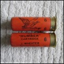 12G WHEATER THE HUMBER ORANGE CARTRIDGE  [INERT]
