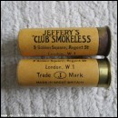 12G R.T.O. YELLOW JEFFERY CLUB SMOKELESS  CARTRIDGE  [INERT]