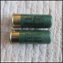 12G LORD GOUGHS WHIZZ-BANGS! GREEN CARTRIDGE  [INERT]