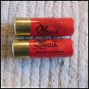 12G R.T.O. GEVELOT GALLIA RED CARTRIDGE  [INERT]