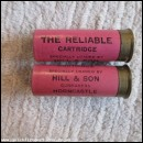 12G R.T.O. HILL THE RELIABLE PINK CARTRIDGE  [INERT]
