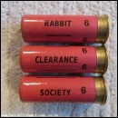 12G  RABBIT CLEARANCE SOCIETY PINK CARTRIDGE  [INERT]