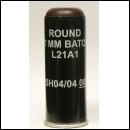 37mm Baton Round L21A1 Rubber Bullet Round A Riot