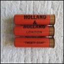 28G R.T.O. HOLLAND & HOLLAND TWENTY-EIGHT CARTRIDGE  [INERT]