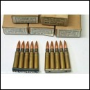 7.92mm K98 Inert Stripper Clip 8x57 Mauser Rounds