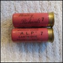 12G WESTLEY RICHARDS A.L.P. CARTRIDGE   [INERT]