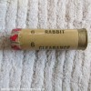 12G  RABBIT CLEARANCE CARTRIDGE EMPTY FIRED CASE