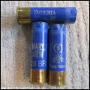 12G MARY ARM IMPERIA  BLUE EMPTY FIRED CASE