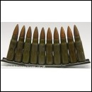 Drill Rounds AK47 / SKS 7.62x39mm On Stripper Clip