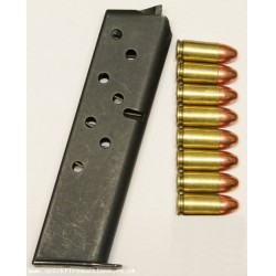 S&W Smith & Wesson Model 39 Magazine & Inert 9mm Bullets