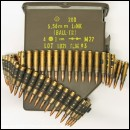 5.56mm M249 MINIMI SAW Bullet Belt x50 rounds in box
