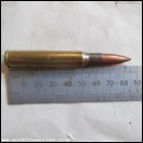 1 X .30 DM 42 BALL POINTED BULLET INERT