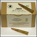 .303 Lee Enfield / Bren 50 Rounds Boxed Inert 7.7mm